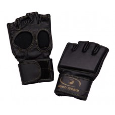 Leather Grappling Gloves without Thumb