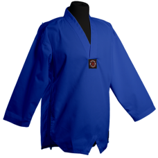 Blue V-Neck Middleweight - Jacket only